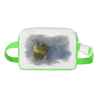 Frog with Attitude Fanny Pack