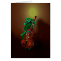 Frog with Double Bass 3