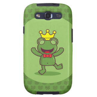 Frog with Frog Pattern Galaxy SIII Cover