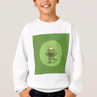 Frog with Frog Pattern Sweatshirt