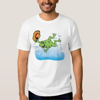 Frog with Hat Shirt