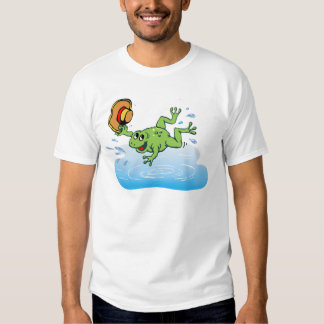 Frog with Hat T Shirt