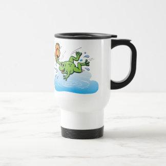 Frog with Hat Travel Mug
