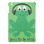 Frog With Heads Born To Be Wild Customizable Case For The iPad Mini