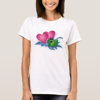 Frog with hearts T-Shirt