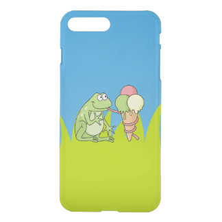Frog with Icecream iPhone 7 Plus Case