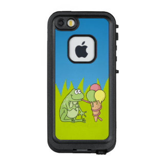 Frog with Icecream LifeProof® FRĒ® iPhone 5 Case