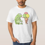 Frog with Icecream T-Shirt