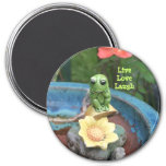 Frog With Message Magnet