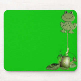 Frog with Pot Mousepad