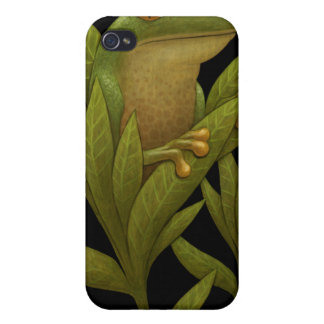 Frogbloom iPhone Case Cover For iPhone 4
