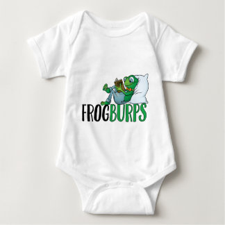 Frogburps Frog Loves To Read Baby Bodysuit