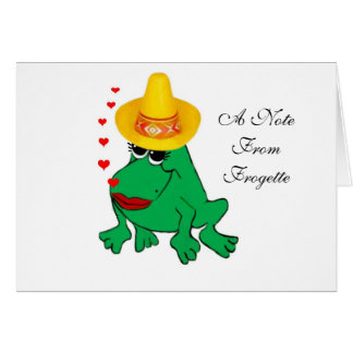 Frogette Card