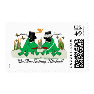 Frogette & Freddy.... Stamps