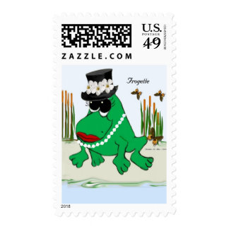 Frogette Stamps
