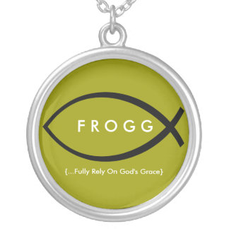 FROGG (Fully Rely On God's Grace) Necklace