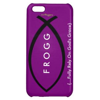 FROGG (Fully Rely On Gods Grace) Purple Case