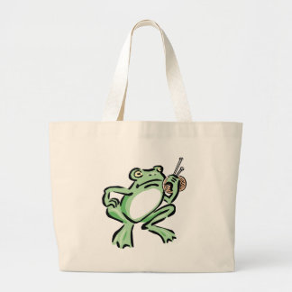 Frogger Bolsa Tela Grande
