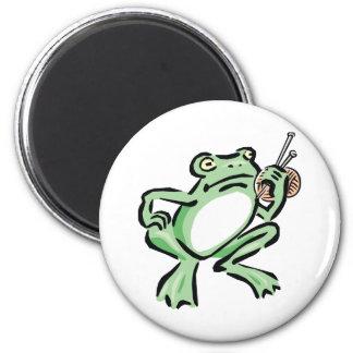 Frogger Imán Redondo 5 Cm