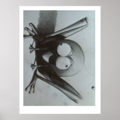 frogger póster