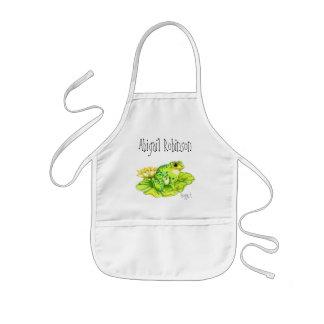 """Froggert"" Child's Classroom Arts/Crafts Aprons"