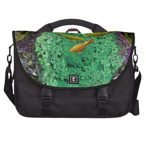 Froggery 2 with Koi Magical Surreal Kid's Bag For Laptop