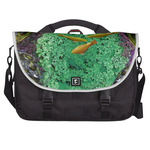 Froggery 2 with Koi Magical Surreal Kid's Commuter Bags