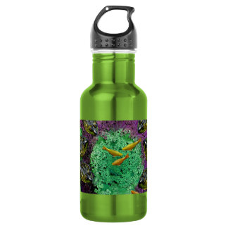 Froggery 2 with Koi Magical Surreal Kid's Water Bottle
