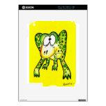Froggery Calcomanías Para El iPad 2