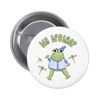Froggie Big Brother Pinback Buttons
