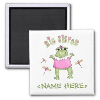Froggie Big Sister Magnet