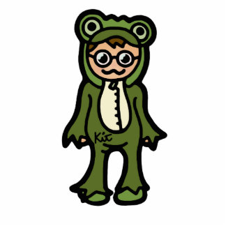 froggie fun time. cutout
