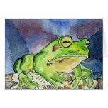 Froggie Greeting Card