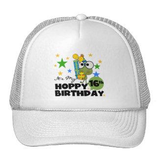 Froggie Hoppy 16th Birthday Hat