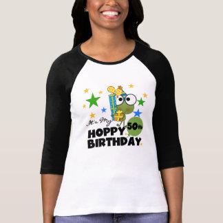Froggie Hoppy 50th Birthday T-Shirt