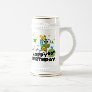 Froggie Hoppy 60th Birthday Beer Stein