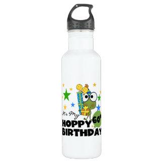 Froggie Hoppy 60th Birthday 24oz Water Bottle