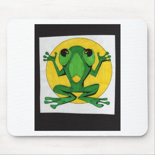 froggie ido salvaje alfombrilla de raton