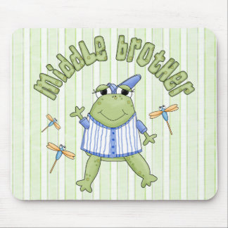 Froggie Middle Brother BG Mouse Pad