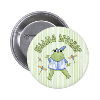 Froggie Middle Brother Buttons