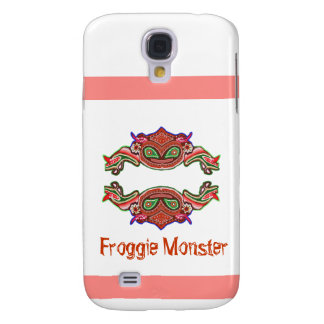 Froggie Monster - Frog Cartoon Samsung Galaxy S4 Cases