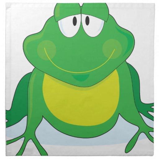 Froggie Napkin