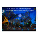 Froggie Night Kids Invitation by deprisedesigns Greeting Cards