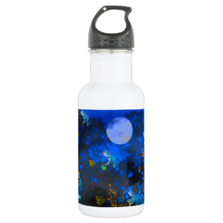 Froggie Night Stainless Steel Water Bottle