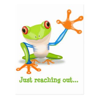 Froggie Notecard Postcard