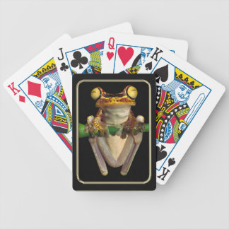Froggie Photo Art Playing Cards