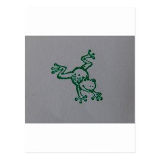 Froggie Postcard
