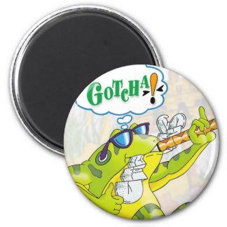 Froggie's Buffet M Magnet