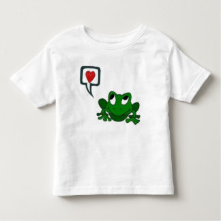 Froggie Secrets Toddler T-shirt