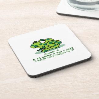 Froggie STAT Beverage Coaster